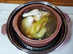 ♨️保存住香味的清靓鸡汤的做法 步骤11