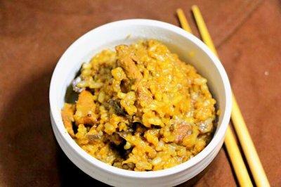 茄子饭 宝宝营养辅食,大米+糙米+小米+猪肉怎么做好吃?茄子饭 宝宝营养辅食,大米+糙米+小米+猪肉的家常做法