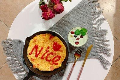 鸡蛋火腿肠面条煎饼怎么做好吃?鸡蛋火腿肠面条煎饼的家常做法