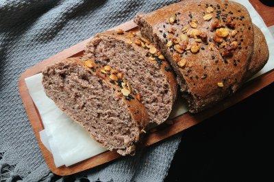 无糖低油全麦面包怎么做好吃?无糖低油全麦面包的家常做法