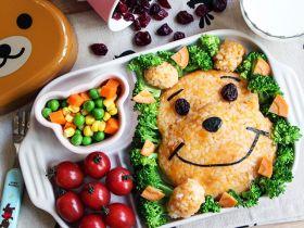 小熊维尼番薯饭【亲子食堂】的做法