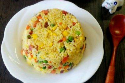 【咱家糧倉——過年要'瘦'心】之一,黃金米飯怎么做好吃?【咱家糧倉——過年要'瘦'心】之一,黃金米飯的家常做法