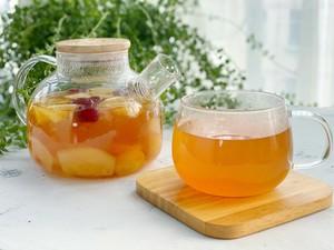 自制冬日热饮水果茶,酸甜好喝又解渴,暖胃健康的做法 步骤9