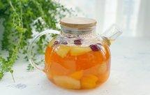 自制冬日热饮水果茶,酸甜好喝又解渴,暖胃健康