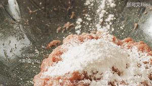 怎样才能做出鲜嫩多汁的肉馅【蟹柳紫菜卷】的做法 步骤5