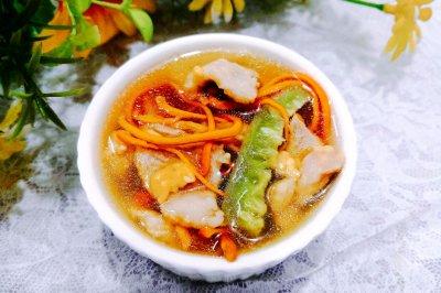 丝瓜虫草瘦肉汤怎么做好吃?丝瓜虫草瘦肉汤的家常做法