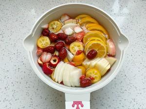 自制冬日热饮水果茶,酸甜好喝又解渴,暖胃健康的做法 步骤3