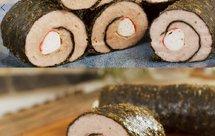 怎样才能做出鲜嫩多汁的肉馅【蟹柳紫菜卷】
