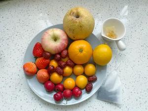 自制冬日热饮水果茶,酸甜好喝又解渴,暖胃健康的做法 步骤1
