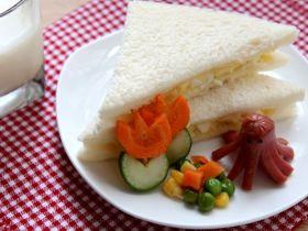 蛋沙侓三文治[超简易亲子食谱]的做法