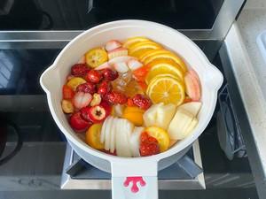自制冬日热饮水果茶,酸甜好喝又解渴,暖胃健康的做法 步骤4