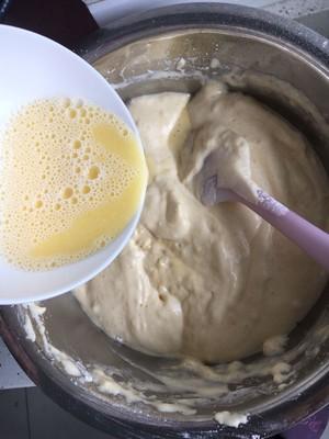 全蛋打发松软美味无泡打粉甜甜圈蛋糕的做法 步骤8