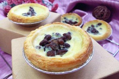红豆蛋挞怎么做好吃?红豆蛋挞的家常做法