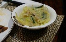 土豆丝韭菜烩蛤蜊