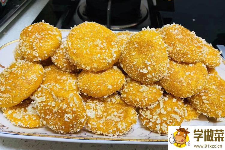 南瓜饼电饼铛要几分钟才能做熟?这样吃南瓜饼也不错。