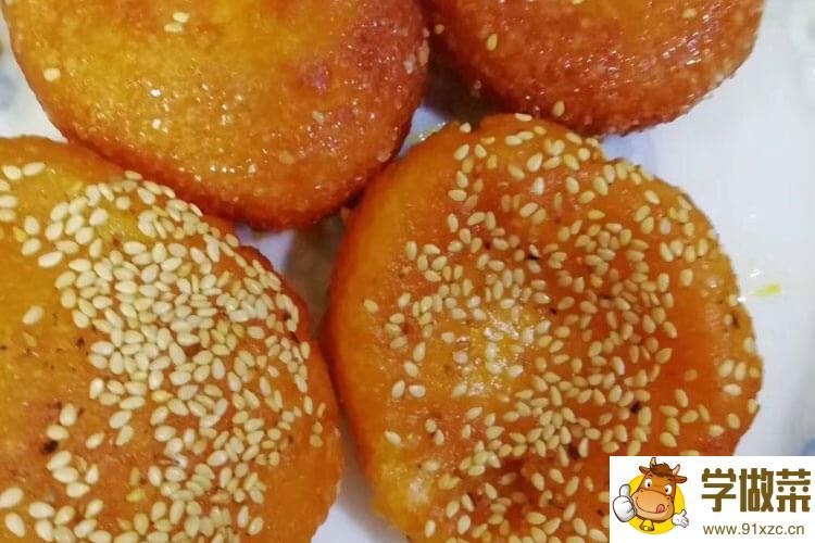 南瓜饼要不要放酵母粉