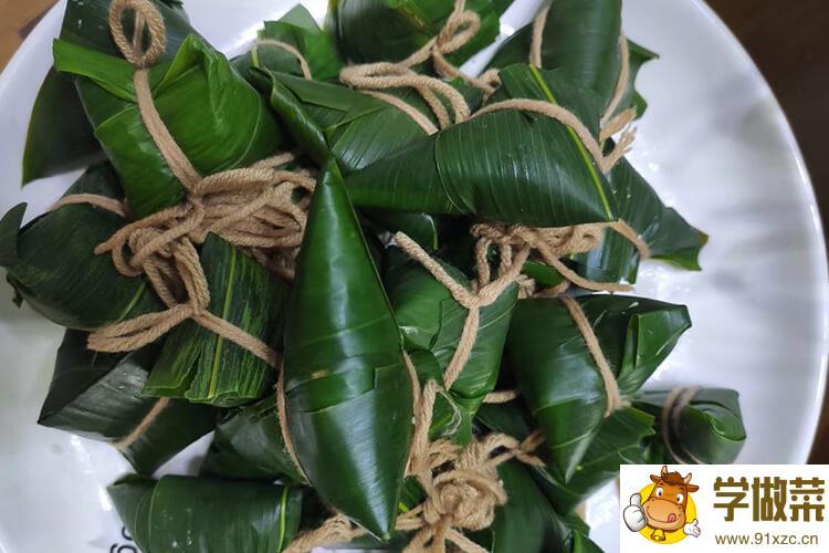 包粽子的枣要蒸多久