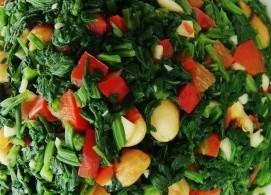 凉拌芹菜叶的做法多种