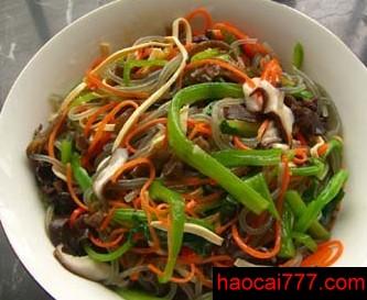韩式杂拌菜的中式做法