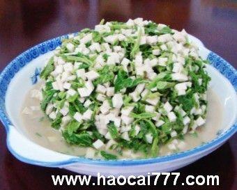 香椿头拌豆腐怎么做好吃