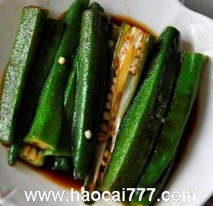 凉拌秋葵,秋葵最简单的吃法