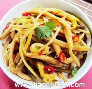 凉拌鲜黄花菜的做法,凉拌鲜花菜怎么做好吃