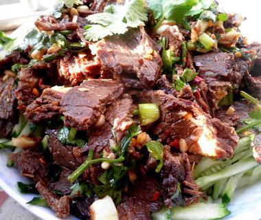 简单家常凉拌牛肉的做法