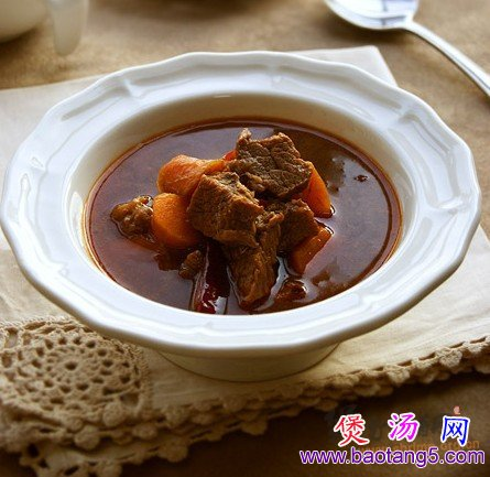 牛肉汤的做法 红烧牛肉汤