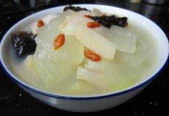 木耳冬瓜三鲜汤的做法_木耳冬瓜三鲜汤怎么做