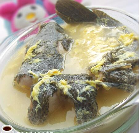 黑鱼蛋汤的做法_黑鱼蛋汤怎么做