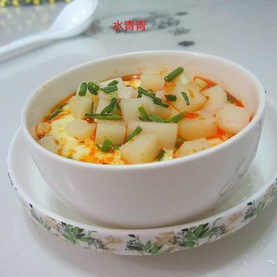 葱香米豆腐蛋羹的做法_葱香米豆腐蛋羹怎么做