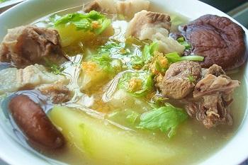 木瓜干贝煲鸭汤做法图文教程