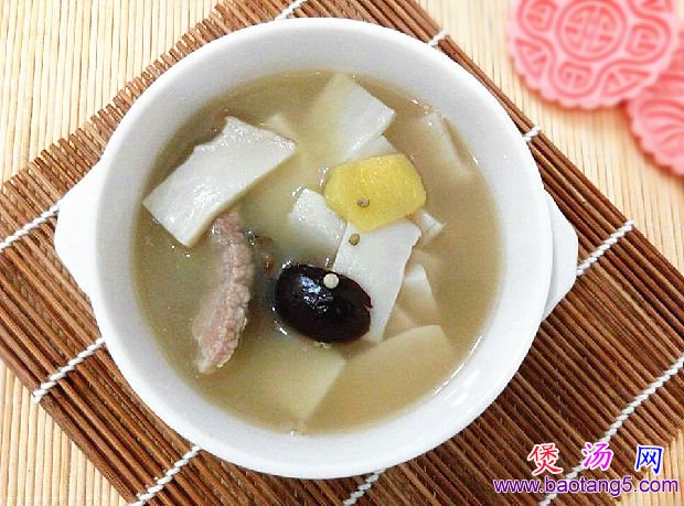 胡椒杏鲍菇瘦肉汤的做法图解