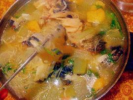 冬瓜鱼头汤怎么做比较好吃
