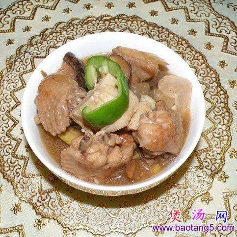 冻豆腐香菇鸡翅煲的做法_冻豆腐香菇鸡翅煲怎么做