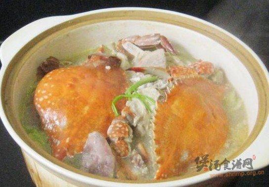 红肓蟹香肠白菜煲的做法_红肓蟹香肠白菜煲怎么做