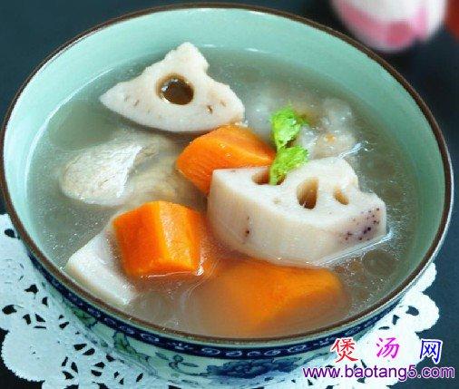 莲藕胡萝卜猪骨汤的做法_莲藕胡萝卜猪骨汤怎么做