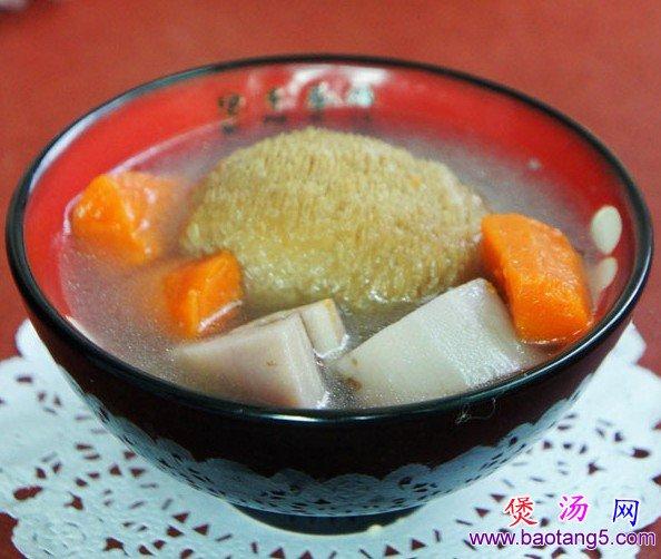 猴头菇莲藕骨头汤的做法_猴头菇莲藕骨头汤怎么做