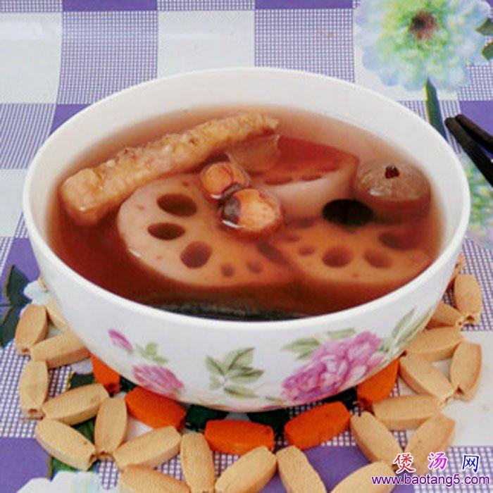 灵芝黑豆莲藕汤的做法_灵芝黑豆莲藕汤怎么做