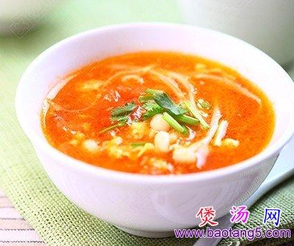 番茄金针菇鸡蛋汤的做法_番茄金针菇鸡蛋汤怎么做