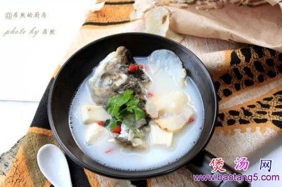 天麻鱼头汤的做法_天麻鱼头汤怎么做