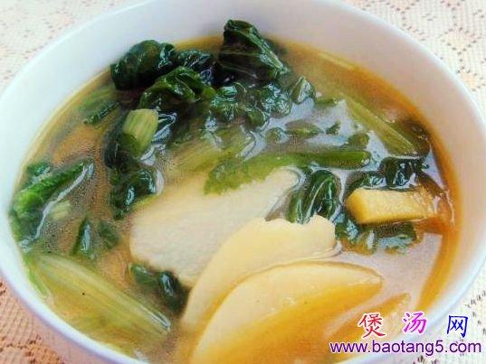 小白菜土豆汤的做法_小白菜土豆汤怎么做