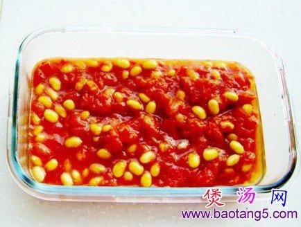 番茄黄豆羹的做法_番茄黄豆羹怎么做