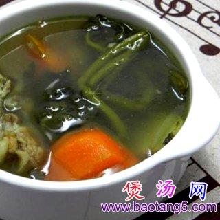西洋菜猪骨汤的做法_西洋菜猪骨汤怎么做