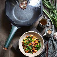 超快手的家常小炒,蒜苗炒肉,超级下饭的做法图解10
