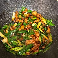 超快手的家常小炒,蒜苗炒肉,超级下饭的做法图解8