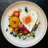 清晨画一幅美丽的画 早餐集锦的做法图解7