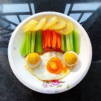 #少盐饮食 轻松生活#健康早餐的做法图解3