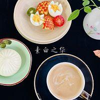 清晨画一幅美丽的画 早餐集锦的做法图解3