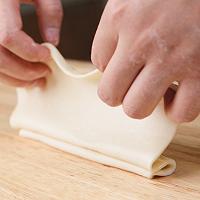 """美味营养早餐在家自制""""手抓饼""""的做法图解11"""